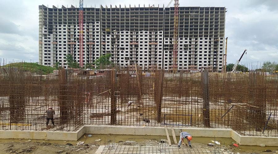 Отчет о строительстве ЖК «Fresh», июнь, 2021г.