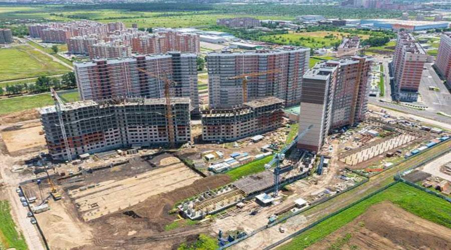 Отчет о строительстве ЖК «Грани», июнь, 2021г.