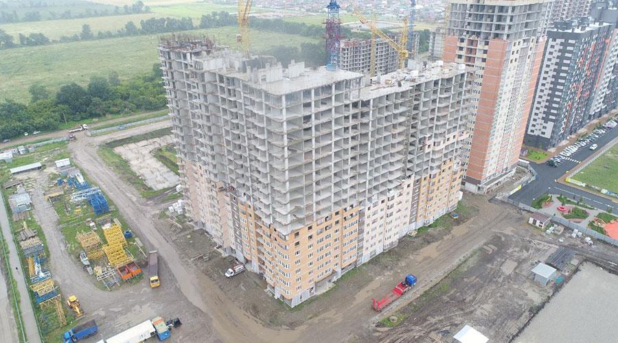 Отчет о строительстве ЖК «Губернский», июль, 2021г.