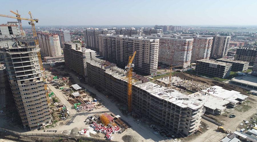 Отчет о строительстве ЖК «Лучший», июль, 2021г.
