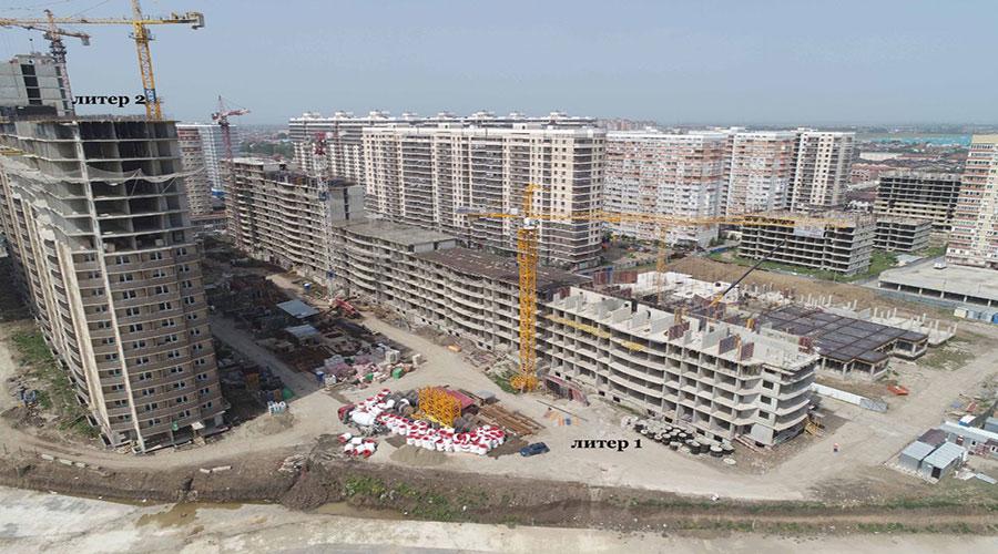 Отчет о строительстве ЖК «Лучший», июнь, 2021г.