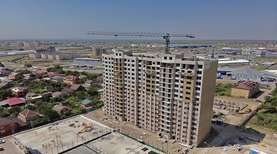 Отчет о строительстве ЖК «Мега Победа», июль, 2021г.