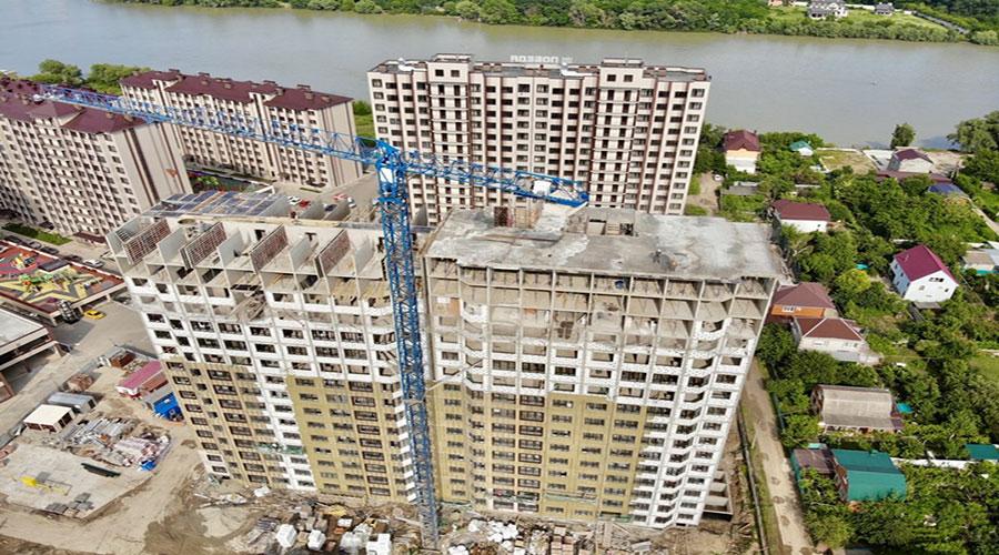 Отчет о строительстве ЖК «Мега Победа», июнь, 2021г.