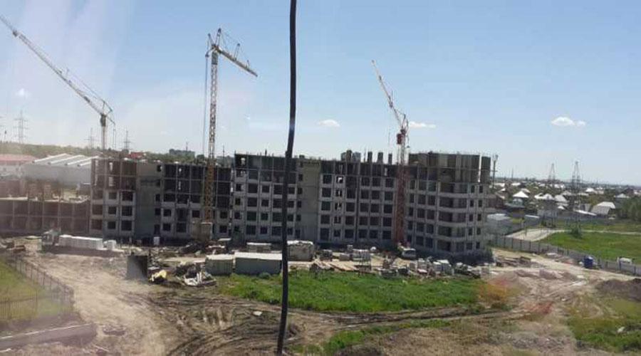 Отчет о строительстве ЖК «Мега Победа», май, 2021г.