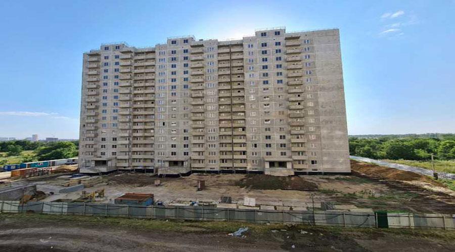Отчет о строительстве ЖК «Молодежный», июль, 2021г.