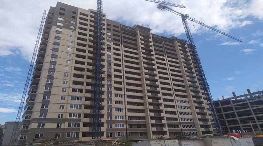 Отчет о строительстве ЖК «На Стахановской»,  июль, 2021г.