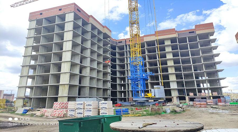 Отчет о строительстве ЖК «Облака»,  июль, 2021г.