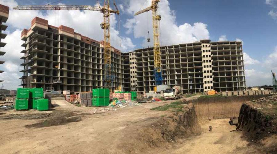 Отчет о строительстве ЖК «Облака», июнь, 2021г.