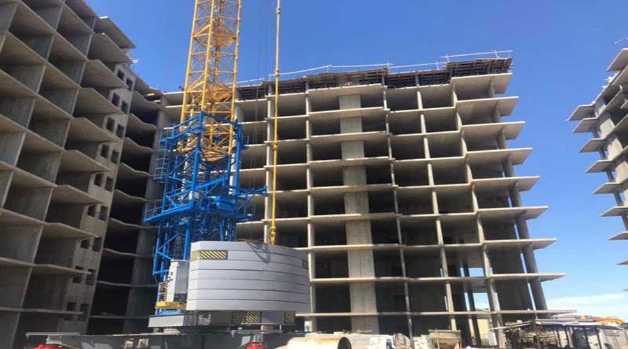 Отчет о строительстве ЖК «Облака», май, 2021г.