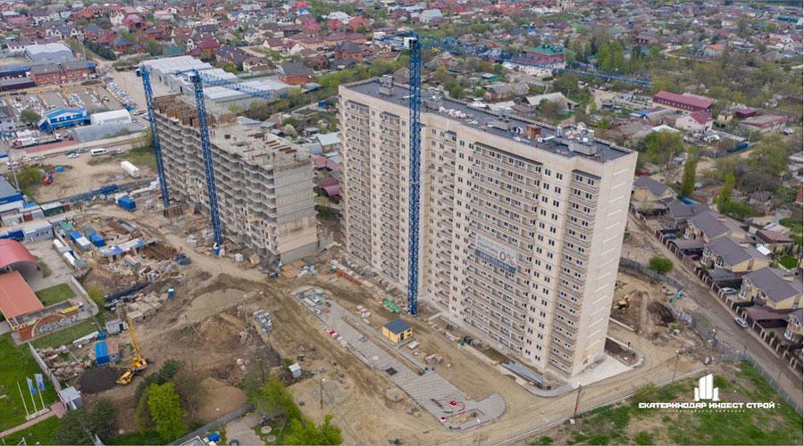 Отчет о строительстве ЖК «Олимпийский», май, 2021г.