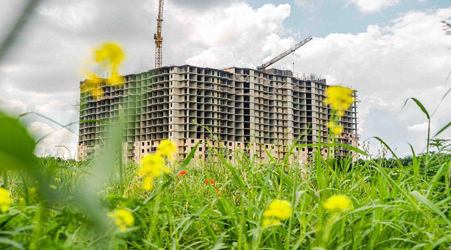 Отчет о строительстве ЖК «Открытие», июнь, 2021г.