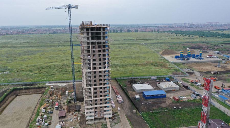 Отчет о строительстве ЖК «Отражение», июнь, 2021г.