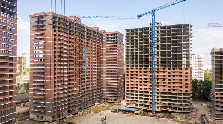 Отчет о строительстве ЖК «Парк Победы», июнь, 2021г.