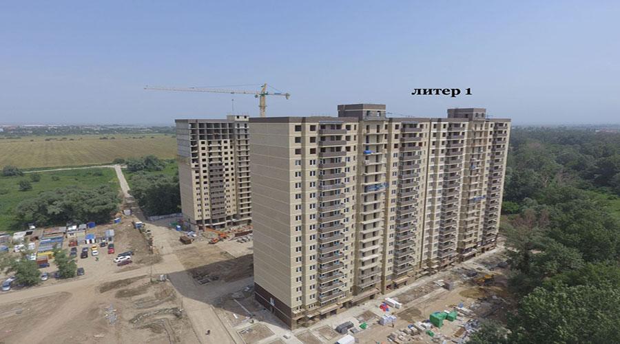 Отчет о строительстве ЖК «Поколение», июнь, 2021г.