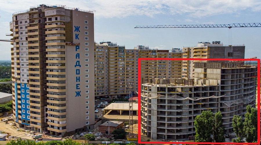 Отчет о строительстве ЖК «Радонеж», июль, 2021г.