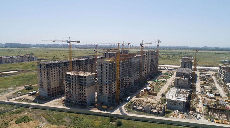 Отчет о строительстве ЖК «Ракурс», июль, 2021г.