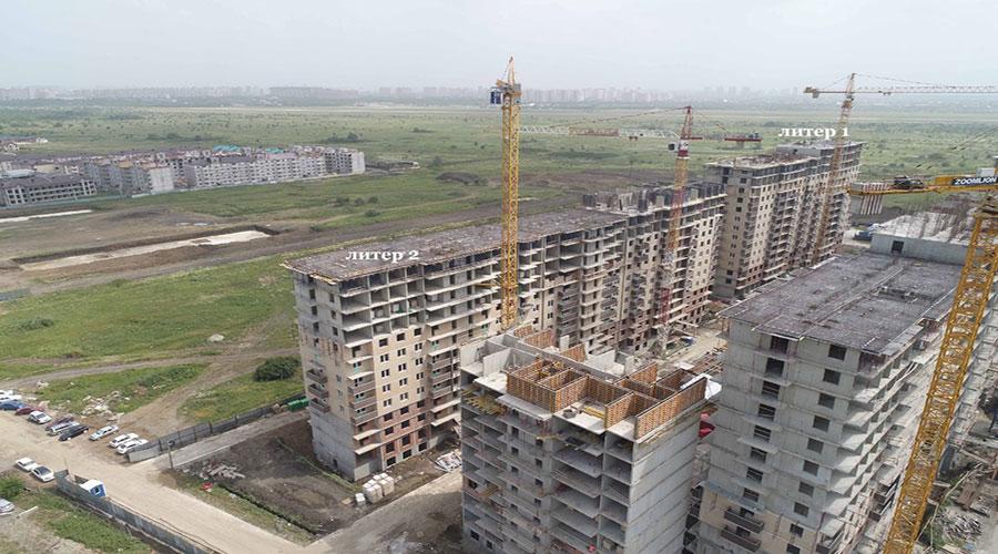 Отчет о строительстве ЖК «Ракурс», июнь, 2021г.