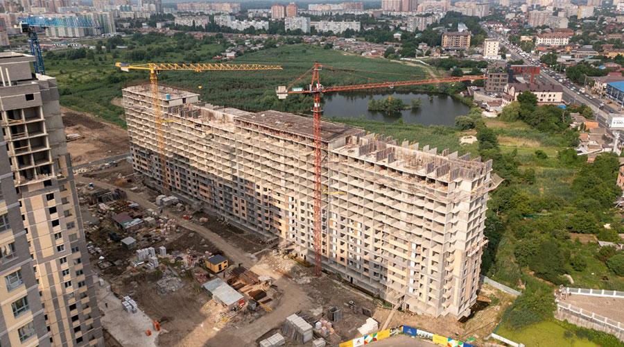 Отчет о строительстве ЖК «Сказка Град», июнь, 2021г.