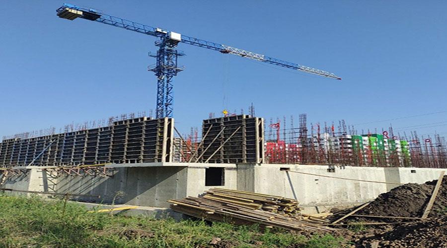 Отчет о строительстве ЖК «Спортивный парк», июль, 2021г.