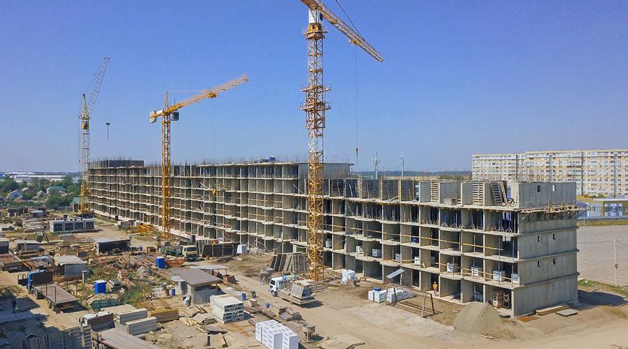 Отчет о строительстве ЖК «Светлоград», июль, 2021г.