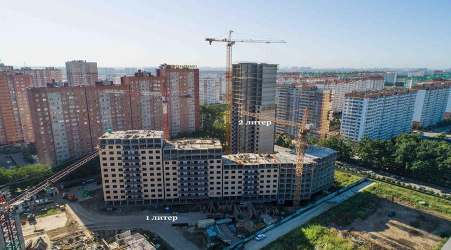 Отчет о строительстве ЖК «Свобода», июль, 2021г.