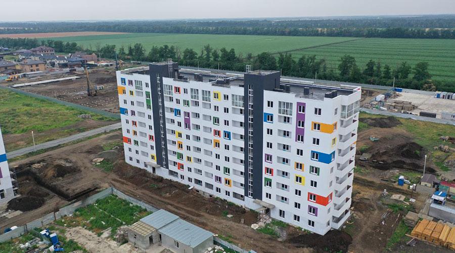Отчет о строительстве ЖК «Южане», июнь , 2021г.