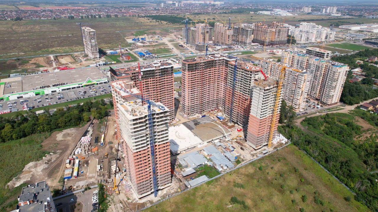 Отчет о строительстве ЖК «Парк Победы», август, 2021г.