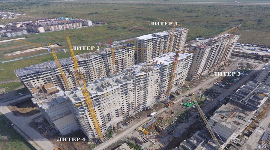 Отчет о строительстве ЖК «Ракурс», август, 2021г.