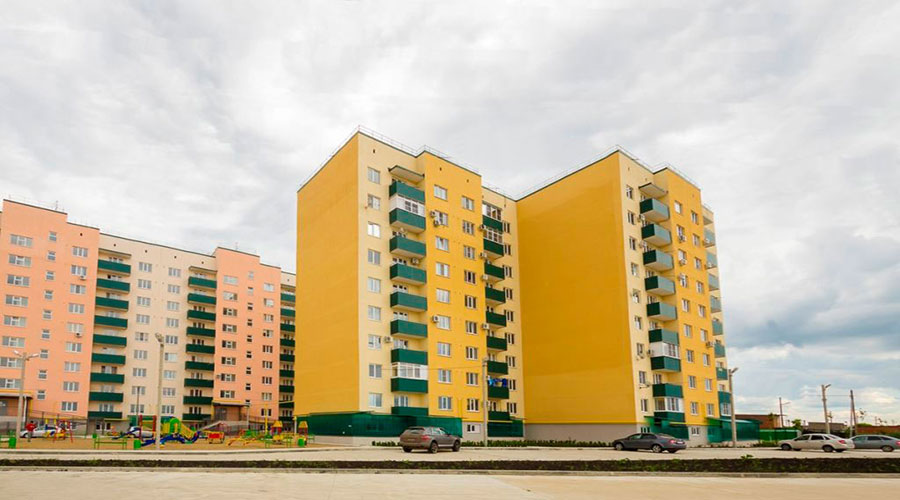 Отчет о строительстве ЖК «Яблоновский», июнь, 2015г.