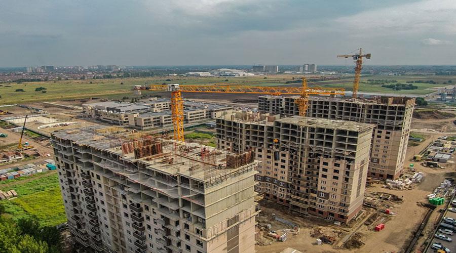Отчет о строительстве Neo квартал «Красная площадь», август, 2021г.