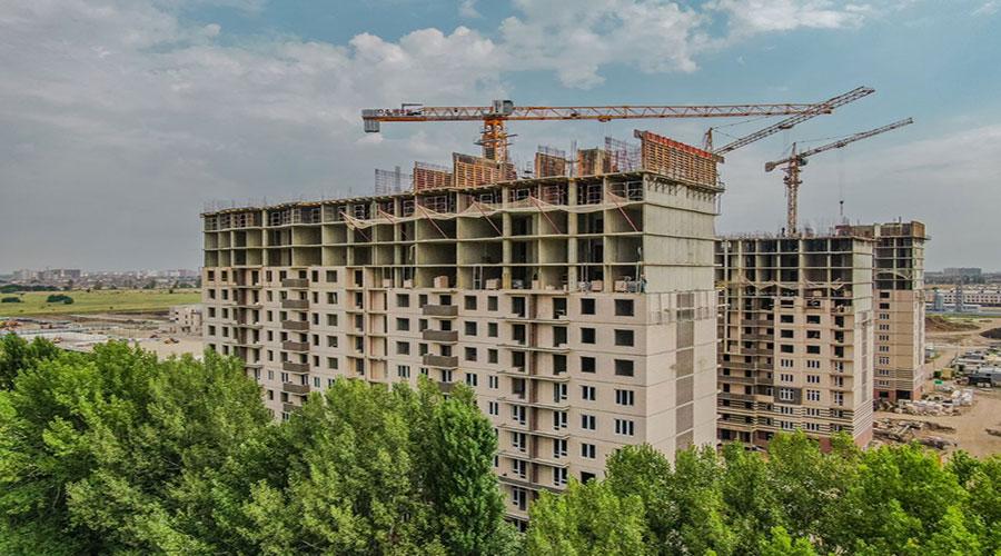 Отчет о строительстве Neo квартал «Красная площадь», сентябрь, 2021г.