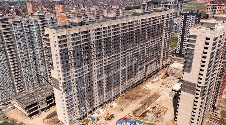 Отчет о строительстве ЖК «Абрикосово», август, 2021г.