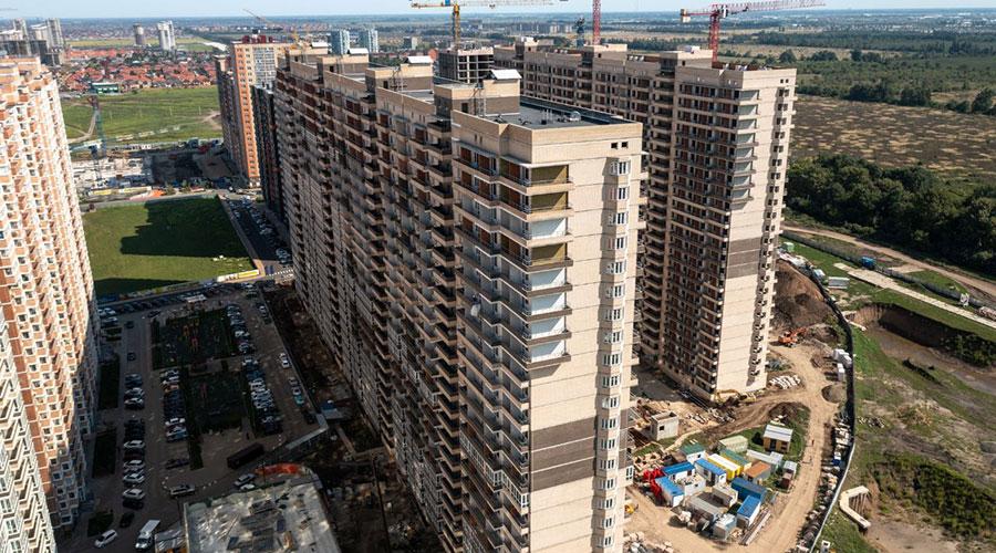 Отчет о строительстве ЖК «Абрикосово», сентябрь, 2021г.