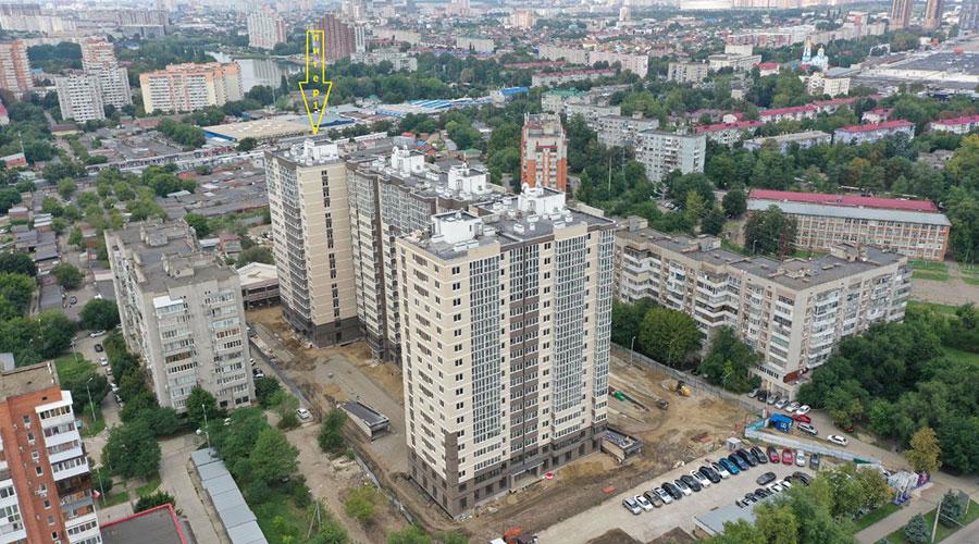 Отчет о строительстве ЖК «Айвазовский», август, 2021г.