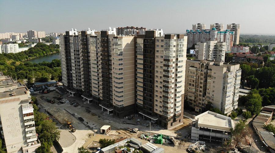 Отчет о строительстве ЖК «Айвазовский», сентябрь, 2021г.