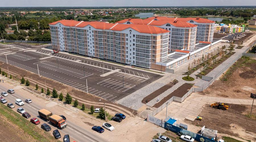 Отчет о строительстве ЖК «Белые Росы», август, 2021г.