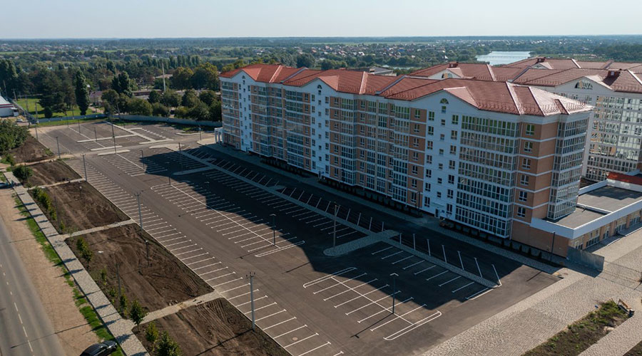 Отчет о строительстве ЖК «Белые Росы», сентябрь, 2021г.
