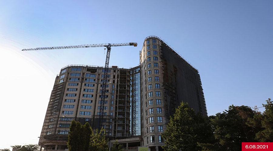 Отчет о строительстве ЖК «Development Plaza», август, 2021г.