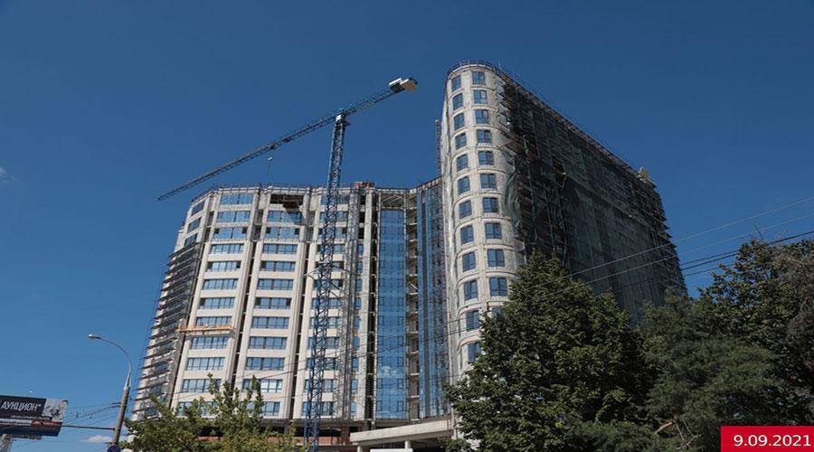 Отчет о строительстве ЖК «Development Plaza», сеентярь, 2021г.
