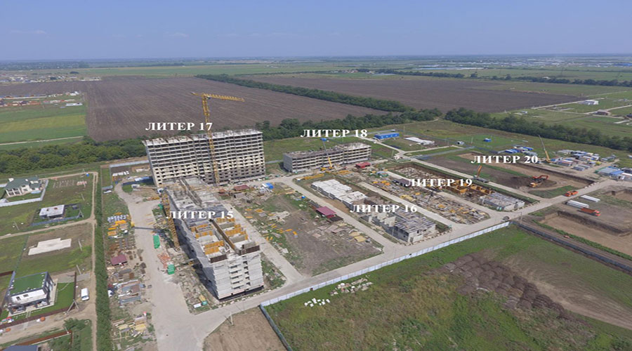 Отчет о строительстве ЖК «Дыхание», август, 2021г.