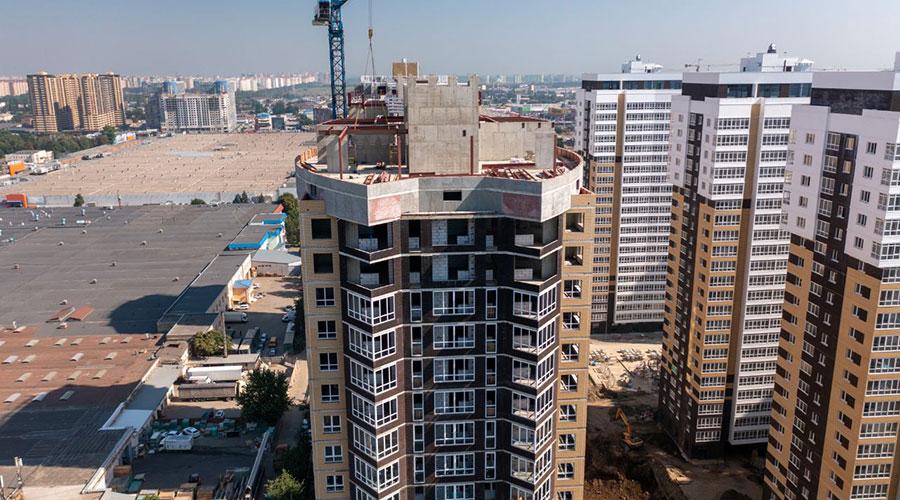 Отчет о строительстве ЖК «Элегант», август, 2021г.