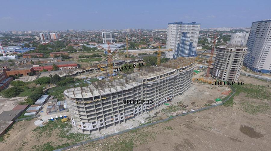 Отчет о строительстве ЖК «Фонтаны», август, 2021г.
