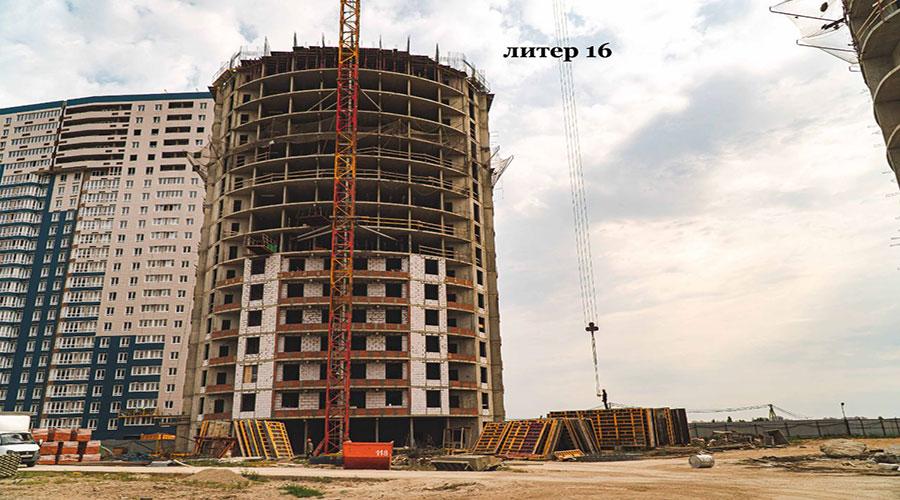 Отчет о строительстве ЖК «Фонтаны», сентябрь, 2021г.