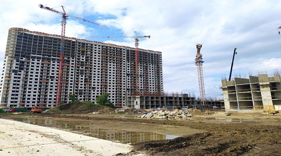 Отчет о строительстве ЖК «Fresh», сентябрь, 2021г.
