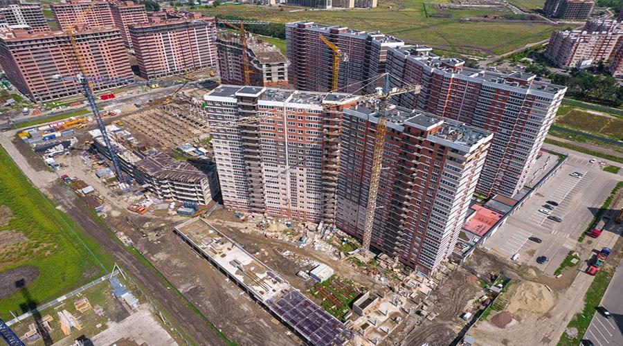 Отчет о строительстве ЖК «Грани», август, 2021г.