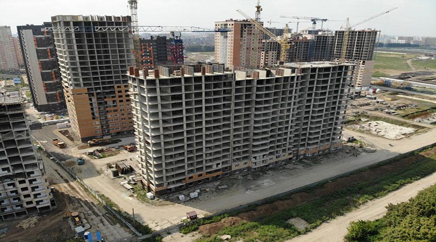 Отчет о строительстве ЖК «Губернский», август, 2021г.