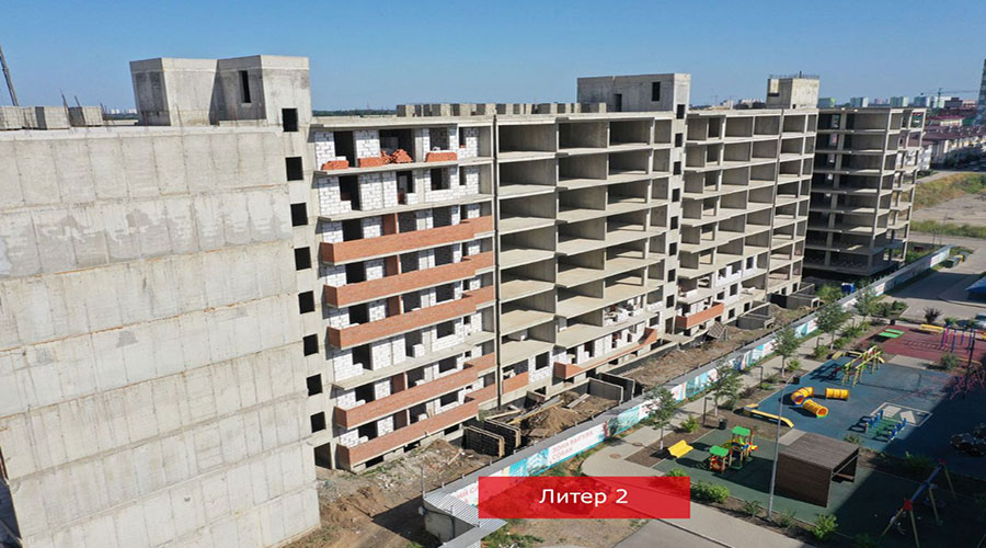 Отчет о строительстве ЖК «Краски», август, 2021г.