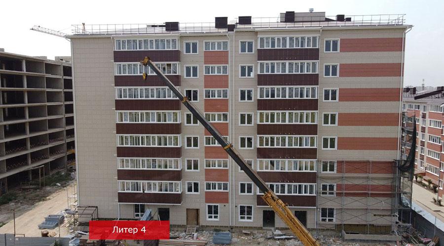 Отчет о строительстве ЖК «Краски», сентябрь, 2021г.