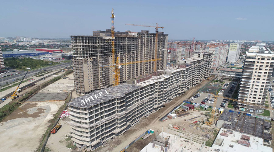 Отчет о строительстве ЖК «Лучший», август, 2021г.