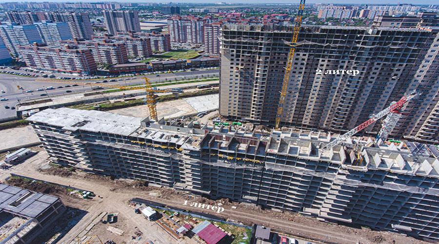 Отчет о строительстве ЖК «Лучший», сентябрь, 2021г.
